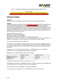 Cahier des charges Ultimate Cladisol