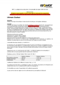 Ultimate Cladisol cahier des charges